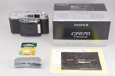 【Top Mint】FUJI GF670 Professional Silver 6x7 w/EBC FUJINON 80mm f/3.5 Lens #2865