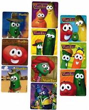 VEGGIE TALES LOT of 10 LARGE Stickers!