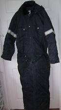 Vintage Fieldmaster Navy Blue 1pc Snowmobile Suit RARE XXL