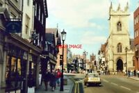 PHOTO  CHESHIRE LOWER BRIDGE STREET CHESTER IN 1986 THE CHURCH (OF ST MICHAEL) W