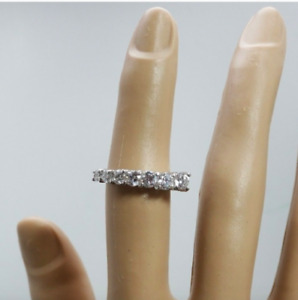 Ladies Silver Plated  Promise Anniversary Ring Cubic Zirconia sizes  5 USA Sell