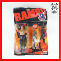 Rambo Action Figure Vintage with Card Movie Character Boxed 1985 by Coleco