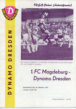 26.10.74 Dynamo Dresden-1.FC Magdeburg