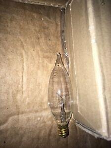 GE Light Bulb Incandescent Candelabra 40CAC (Lot of 12)