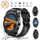 V8 Smart Watch Bluetooth Touch Screen Wrist Tracker With Camera/Support SIM Card