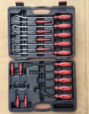 Mac Tools 18 Piece Pick and Scraper Set With Comfort Grip Handles PSM18B New