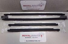 Toyota 4Runner 96-02 Door Belt Moulding Kit Set Weatherstrip (5 pc.) Genuine OEM