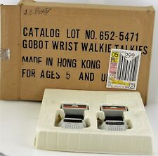VINTAGE GOBOT GO BOTS WRIST WALKIE TALKIES NOS TRANSFORMERS HASBRO WALKY TALKY