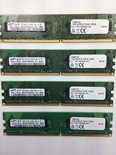 M378t2863ehs-CF7 0851 1GB 1RX8 PC2-6400U-666-12-ZZ MEMORY MODULE SET OF 4