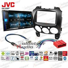 JVC KW-V25BT Double Din DVD CD Player Car Radio Install Mount Kit Bluetooth