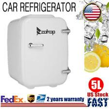 Car 12V Mini Portable Fridge Small Drinks Beer Milk Cooler & Warmer Dual Use 5L~