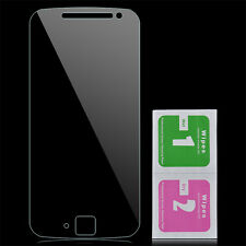 9H Tempered Glass Screen Film Guard Protector +Cloth For Motorola Moto G4 Plus
