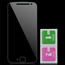 9H Tempered Glass Screen Film Guard Protector +Cloth For Motorola Moto G4 Plus