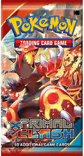 10x English Pokemon pack Xy Primal Clash Booster Packs Sealed In Hand