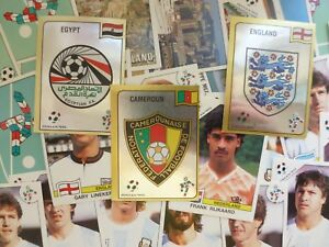 Panini Italia 90 Stickers - Complete Your Collection