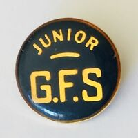Junior GFS Girls Friendly Society Authentic Pin Badge Rare Vintage (J11)