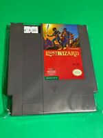 🔥 💯 WORKING NINTENDO NES GAME Cartridge - Broderbund - LEGACY OF THE WIZARD