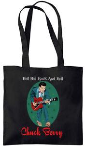 Chuck Berry - Hail Hail Rock and Roll - Tote Bag (Jarod Art Design)