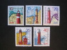 DDR MiNr. 1953-1957 postfrisch**  (DD 1953-57)
