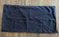Matteo King Pillowcase Sham Linen Navy Blue 38 x 20
