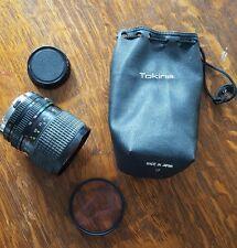 TOKINA AT-X 28-85mm LENS 1:3.5-4.5 Nikon Canon Minolta mount bag Hoya Skylight
