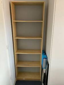 IKEA Bookcase, 5 Tier, Oak