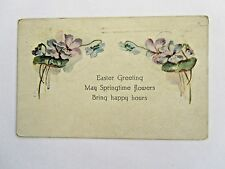 Easter Greeting 1921 w/#548 affixed, Waldoboro Me cancel sent to Jefferson Me