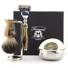 HARYALI Men's Beard Trimmer & Clean Shave Head Shaver Styling Kit Set Barbers 5X
