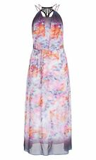 City Chic M 18 US Maxi Shay Dress Summer Plus Size