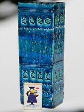 BITOSSI Vase * 21,5 cm * ALDO LONDI Italy RIMINI BLUE 1960er 60s Design Keramik