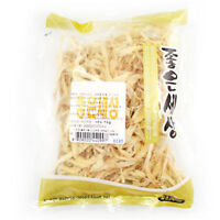 140g FINE Slice Dried Pollack Soft Korean Snack Jerky High Protein Calcium_ar