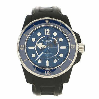 Chanel J12 Marine Automatic Watch Ceramic and Rubber 42