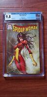 Spider-Woman #1 CGC 9.8, Michael Turner Variant A, Aspen/Street Level Marvel '20