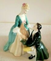 "Royal Doulton Figurine ""The Suitor"""