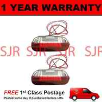 2X FOR VW PASSAT CC JETTA 18 WHITE LED FRONT DOOR LIGHT RED/WHITE LIGHT LAMP