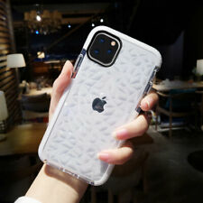 Shockproof Soft Clear Phone Case Diamond Bumper Cover for iPhone 11/11 Pro Max