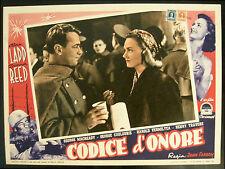 CINEMA-fotobusta CODICE D'ONORE ladd,reed,macready,travers,FARROW