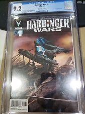 Harbinger Wars # 1 cgc 9.2 valiant Zircher variant
