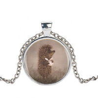 HEDGEHOG IN THE FOG PENDANT NECKLACE / Jewellery Gift Idea Russian Animation