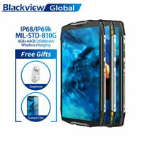 "Blackview 5.7"" BV6800 Pro 4GB+64GB 4G Rugged Smartphone IP68 Waterproof 6580mAh"