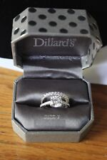 Dillards Branded Ring Size 7 Sparkling With Matching Band Tags Attached
