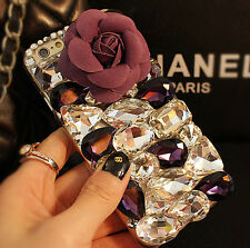 Cute Luxury Bling Jewelled Crystal Diamond Rhinestone Hard Back Phone Case Cover