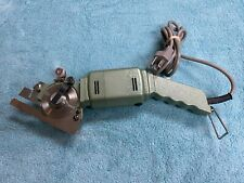 N.C. Model Pc-2 Hand-held Electric Carpet & Pad Cutter Made in Japan