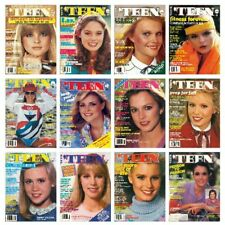 'TEEN 1980 magazine collection - SCANNED - all 12 issues - COMPLETE YEAR