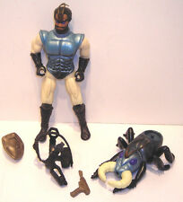 Vintage Sectaurs MANTOR w/ RAPLOR Action Figure COLECO 1984 Warriors of Symbion