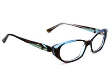 Jean Lafont Eyeglasses Mangolia 675 Tortoise Blue Oval Frame France 53[]13 140
