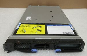 IBM HS12 Blade Server 8028-Z3V 1x Xeon Quad-Core X3323 2.5GHz 4GB Ram