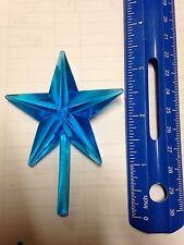 Aqua Chunky Ceramic Christmas Tree Star Large