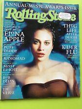 Rolling Stone 1/98,Fiona Apple,Tupac,Puff Daddy,Radiohead,Bob Dylan,January 1998