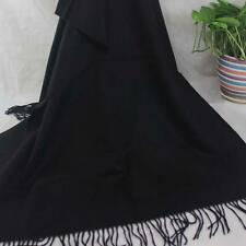 New Womens Mans Solid Long Cashmere Wool Blend Soft Warm Wrap Shawl Scarf 135